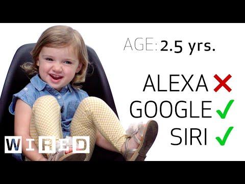 8 Children Test Their Speech on Siri, Echo and Google Home | WIRED