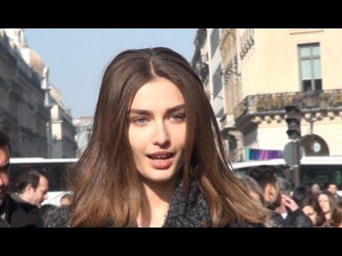 Fashion Week Paris ANDREEA DIACONU
