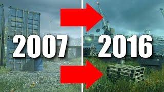 new cod4 vs mw remastered multiplayer graphics comparison 2007 2016