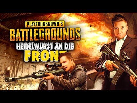 Heidelwurst an die Front - Playerunknowns Battlegrounds