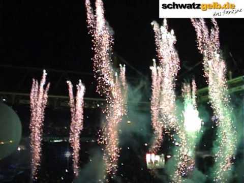 100 Jahre Borussia Dortmund 19.12.2009 Feuerwerk und Lasershow BVB