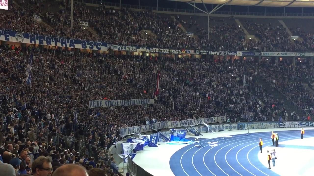 Ostkurve Hertha Bsc Hoffenheim 2017 Youtube