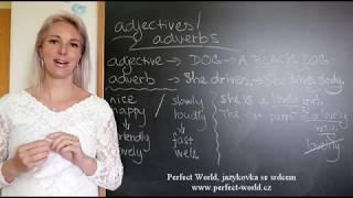 Příslovce vs. přídavná jména v angličtině