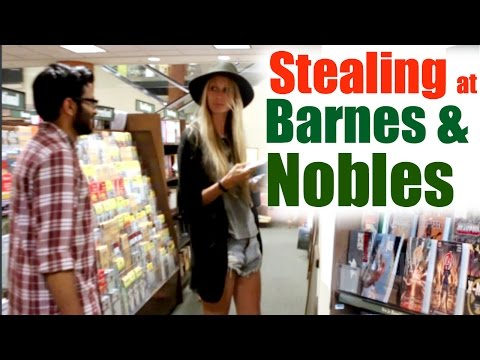 CAUGHT STEALING AT BARNES & NOBLE (prank)
