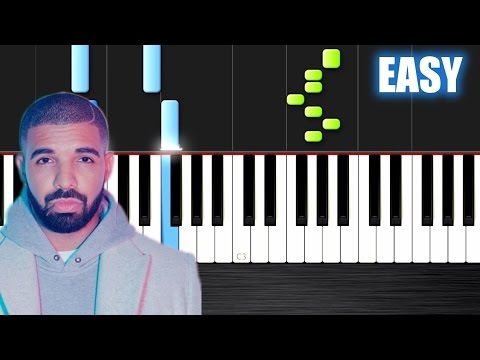 Drake - Hotline Bling - EASY Piano Tutorial by...