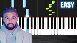 drake hotline bling easy piano tutorial by plutax synthesia