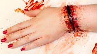 One of goldiestarling's most viewed videos: FX MAKEUP SERIES: Reattached Hand