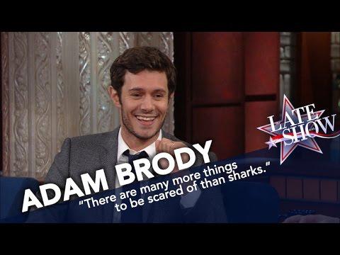 Adam Brody Isn't Afraid of Sharks