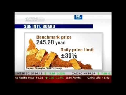 Shanghai Gold Exchange to launch international gold trade board