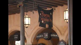 Pirates of the Caribbean POV. Walt Disney World Magic Kingdom