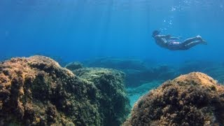 GoPro HERO 4 black edition: Aegean Sea (Underwater Test)