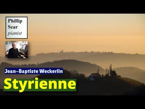 Jean-Baptiste Weckerlin : Styrienne