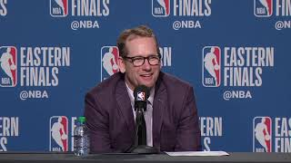 Nick Nurse Postgame Interview - Game 3 | Bucks vs Raptors | 2019 NBA Playoffs