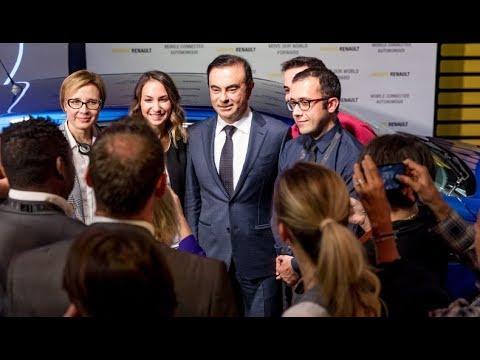 Meeting between Carlos Ghosn and new hires | Groupe Renault