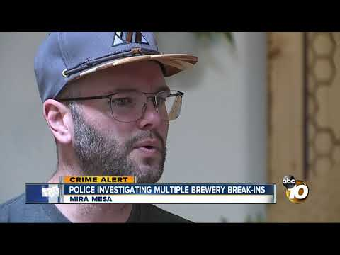 MORNING NEWS - Multiple San Diego Brewery Break-Ins Have Owners Hopping Mad