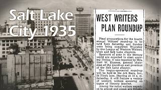 Salt Lake City's History Minute - The League of Utah Writers and Louis L'Amour