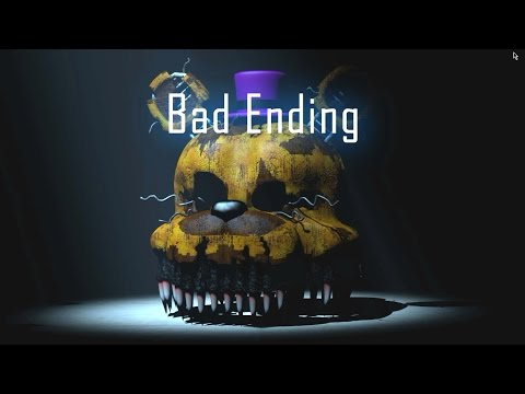 Five Nights at Freddy's Dungeons 3 BAD ENDING