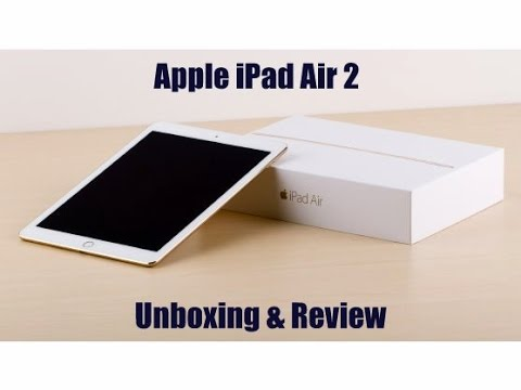 Apple iPad Air 2 First Unboxing & Review !
