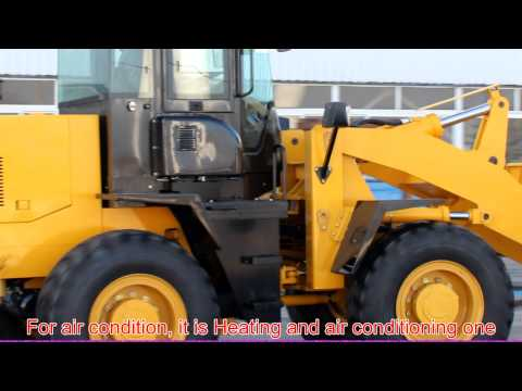 3 Ton China Wheel Loader Are Working.