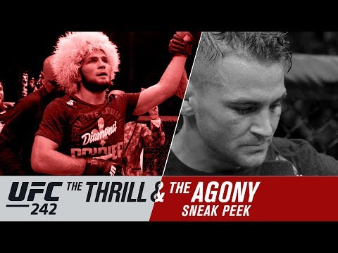 UFC 242 Thrill and Agony video: 'I got fu**ing dominated'