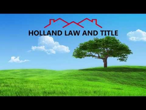 Holland Law and Title - A Fresh Approach