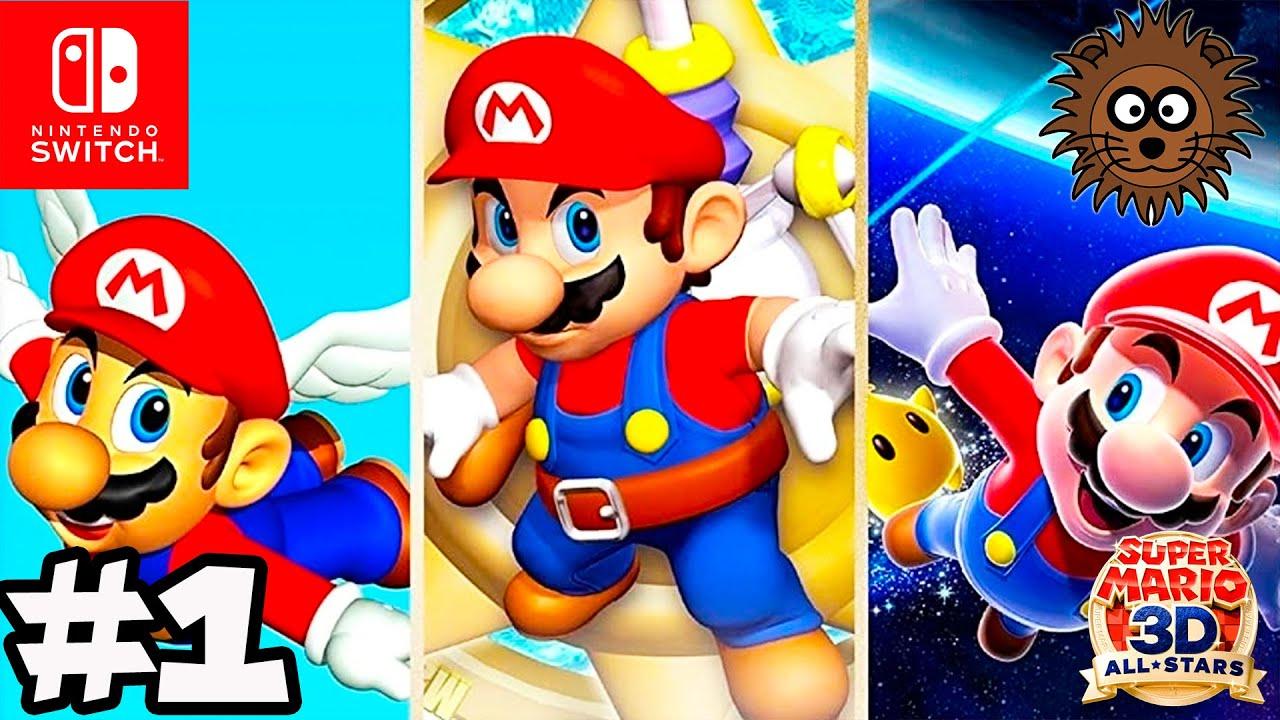 Super Mario 3D All Stars: Super Mario Galaxy en Español #1 - Nintendo Switch