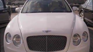 Аренда авто в москве Bentley / бентли белый(, 2016-01-15T13:15:40.000Z)
