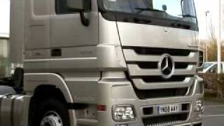 Mercedes-Benz Actros Review Part 1