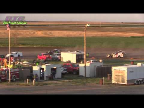 IMCA Sport Mod A Feature Wakeeney Speedway 7 27 14