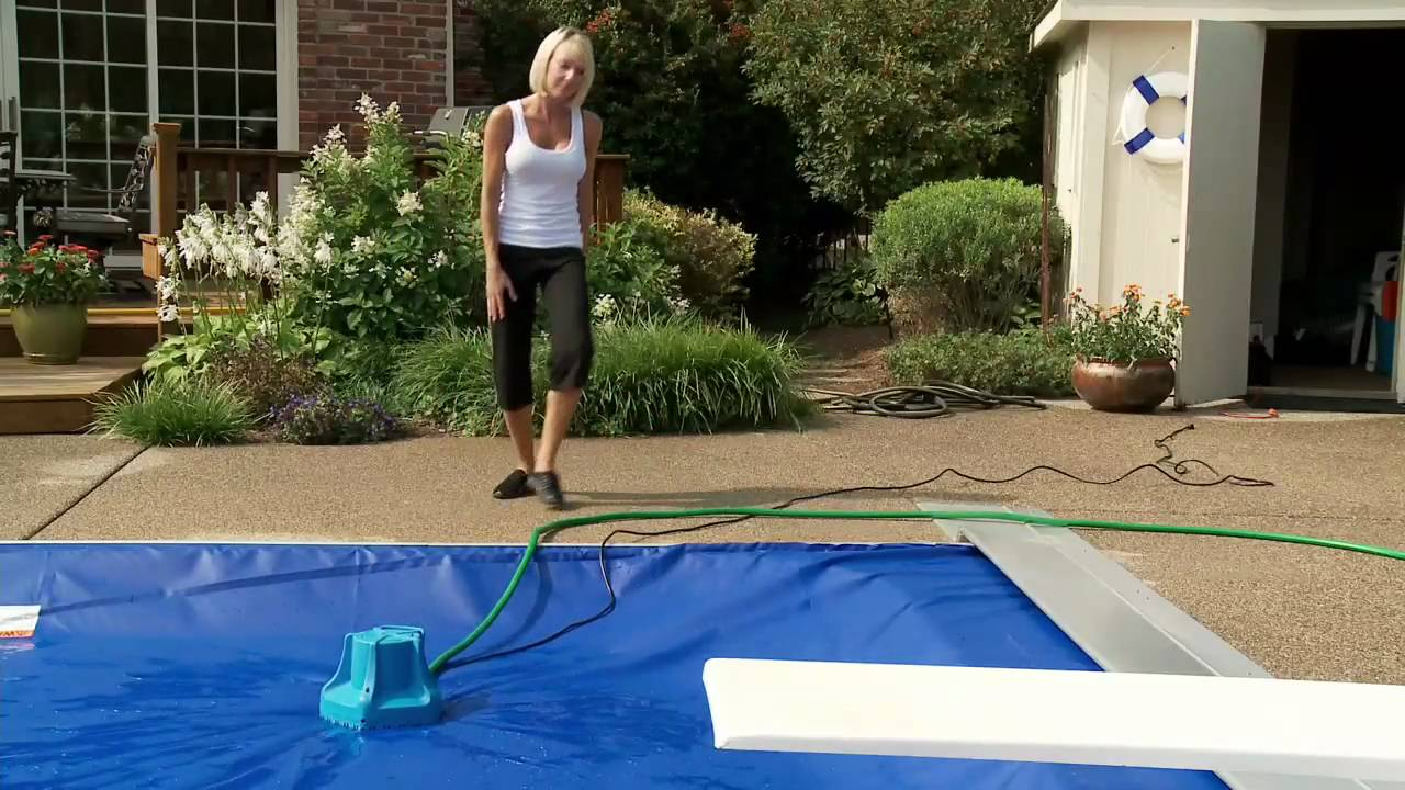 Automatic Pool Cover Safety Tips Youtube