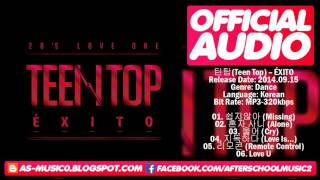 [MP3/DL]02. TEEN TOP (틴탑) - Alone (혼자 사니) [Mini Album ÉXITO]