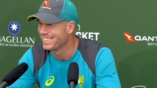 'Curran could have had me out, but I didn't let it go,' says David Warner
