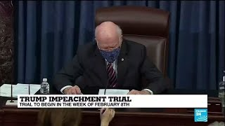 Article of impeachment against Trump formally delivered to US Senate