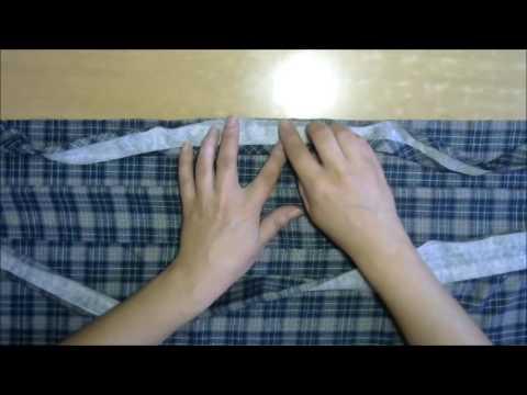 Как пришить планку иглой — кеттельный шов мастер-класс (Kettely seam)