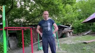 #брусья #трицепс #спорт Стойка в планке на брусьях