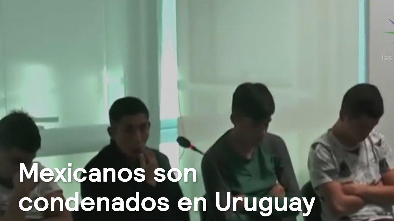 87ecceaf51d9 Condenan a 13 mexicanos en Uruguay por robo de joyería - Despierta con  Loret. Noticieros Televisa