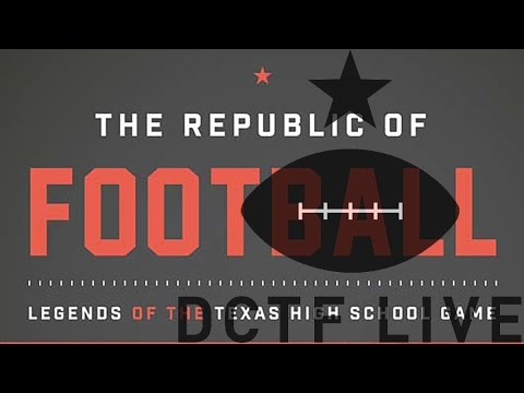 "DCTF Live Interview: ""Republic of Football"" author Chad Conine"