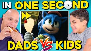 Download Dads DESTROY Their Kids In One Second | Sonic Speed Challenge Mp3 and Videos