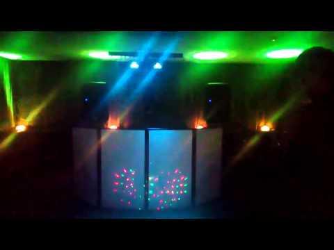 Small Disco With A Few Uplighters Scotland Party Wedding Glasgow Edinburgh