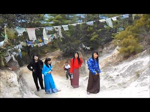 A Hike to Taktsang / Tiger's Nest Monastery with Utpal Girls High School