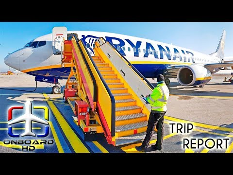 TRIP REPORT | B737 Sky Interior | RYANAIR | Bratislava - London Stansted