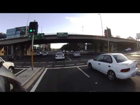 Strathfield to Chatswood Motorcycling, Concord Road, Sydney Australia