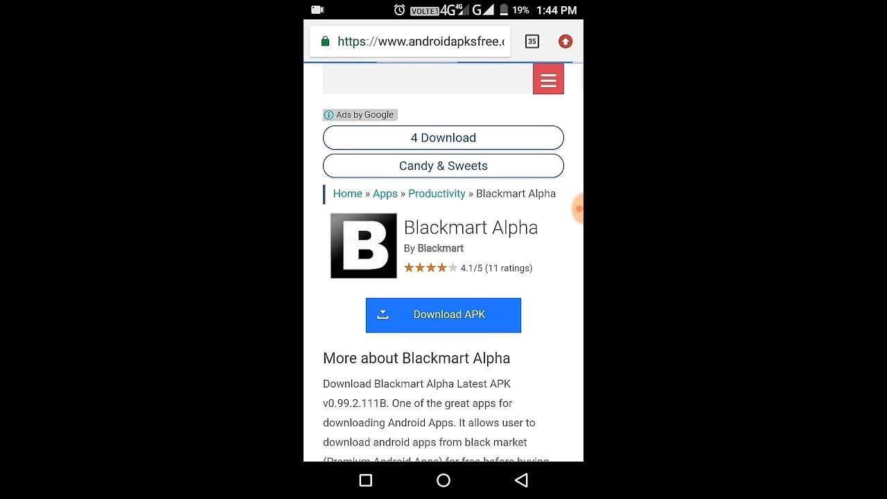 black market app