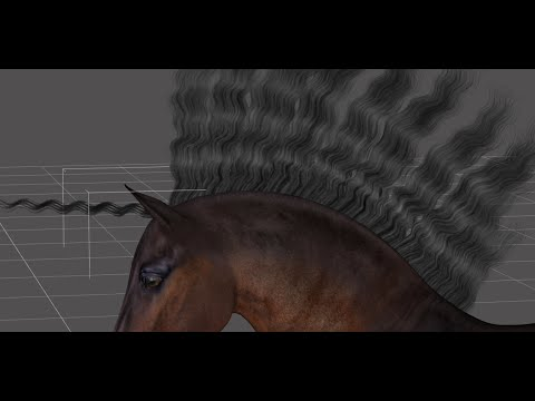 The HiveWire Horse: Working with and Posing the Mane