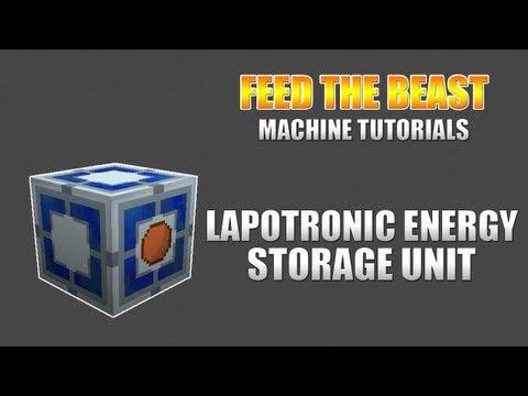 Feed The Beast :: Machine Tutorials :: Lapotronic Energy Storage Unit