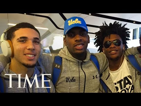 UCLA Players LiAngelo Ball, Jalen Hill & Cody Riley Give Statement On Shoplifting | LIVE | TIME