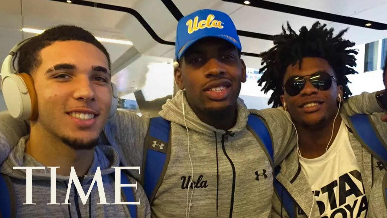 UCLA Players LiAngelo Ball, Jalen Hill & Cody Riley Give Statement On Shoplifting In China | TIME