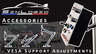 Simlogic - Accessories presentation - VESA bracket - Adjustments