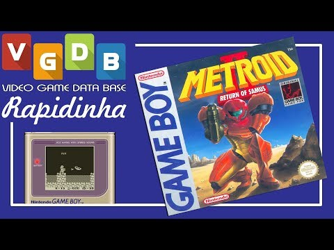 Metroid II: Return of Samus - Game Boy - Rapidinha VGDB #93