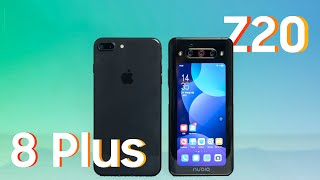 iPhone 8+ vs Nubia Z20: iPhone lép vế